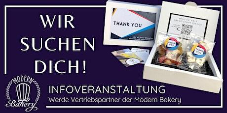 Infoveranstaltung: Werde Vertriebspartner der Modern Bakery Tickets