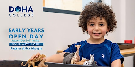 Doha College EYFS  Open Day tickets