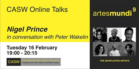 Nigel Prince in Conversation with Peter Wakelin tickets