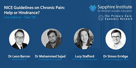 NICE Guidelines on Chronic Pain: Help or Hindrance? tickets