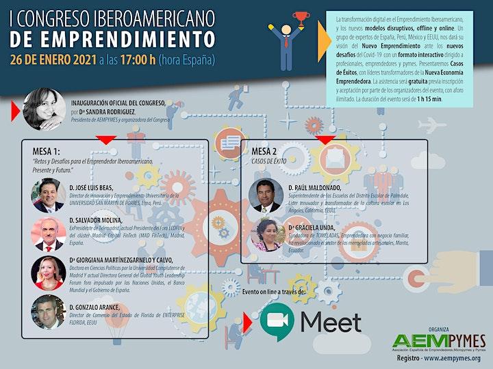 Imagen de I CONGRESO IBEROAMERICANO DE EMPRENDIMIENTO
