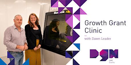 Growth Grant Clinic with Dawn Leader - Dorset Growth Hub tickets