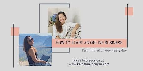 Online Business Building Workshop tickets