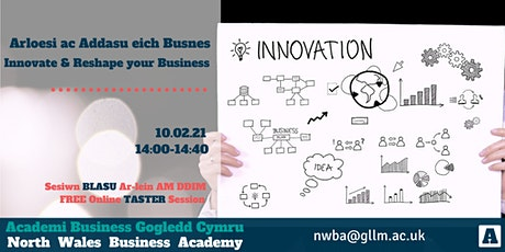 Innovate and Reshape your Business Taster tickets