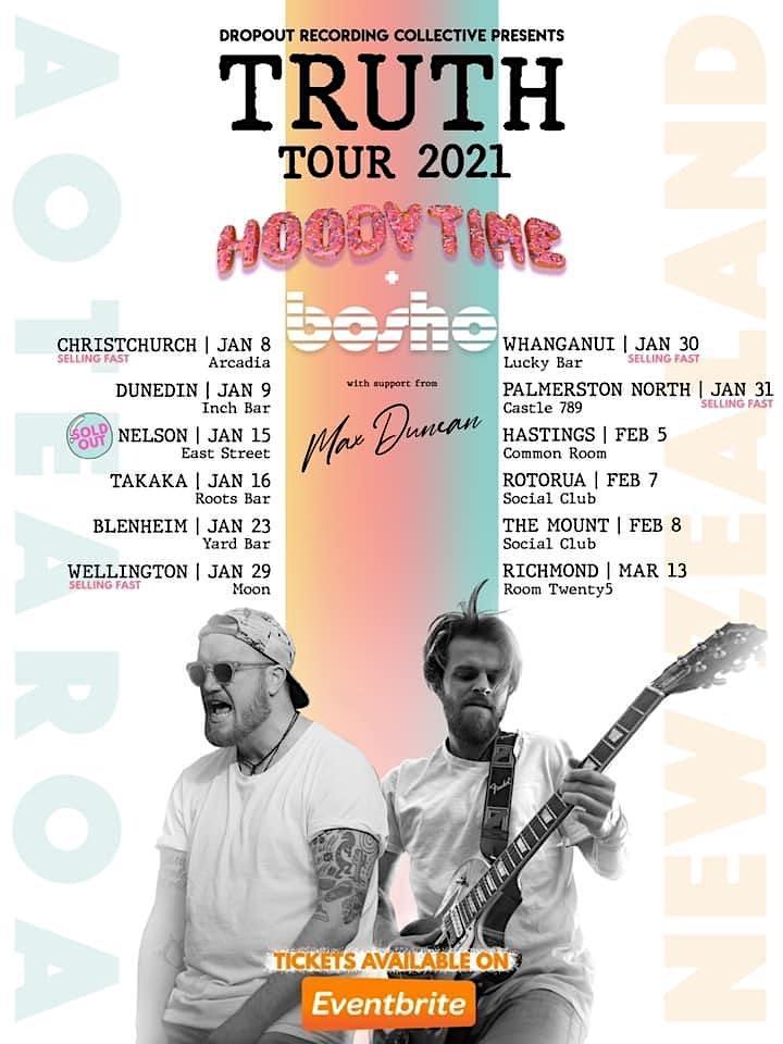 Hoody Time & Bosho - TRUTH TOUR 2021 - Richmond image