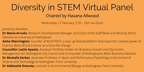 Diversity in STEM Panel Event tickets