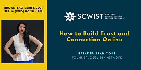 How to Build Trust and Connection Online tickets