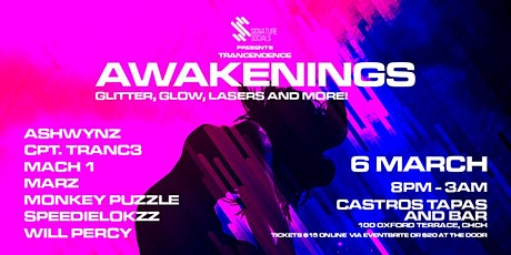 [Cancelled] Awakenings: Castro's Tapas and Bar: 6th March tickets