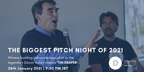 India Startups Pitch Night with Tim Draper tickets