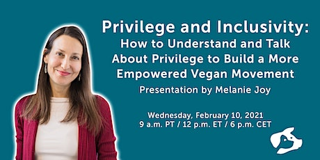 Privilege and Inclusivity: Understanding and Talking About Privilege tickets