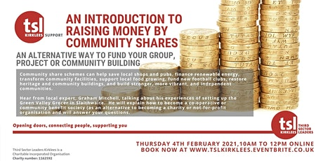 An Introduction to Raising Money by Community Shares tickets