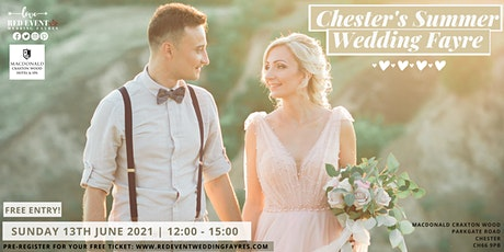 Cheshire & Chester Wedding Fayre at Macdonald Craxton Wood Hotel & Spa tickets