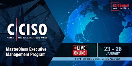 MasterClass Executive Management Program   CCISO  23/21-26/21 tickets