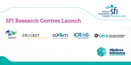 Announcement of New Investment in SFI Research Centres tickets