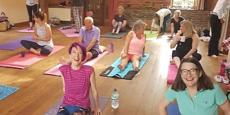 Spring Yoga and Relaxation Day with Malvern Hills Yoga in Worcestershire tickets