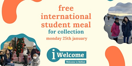 Free International Student Meal for Collection tickets