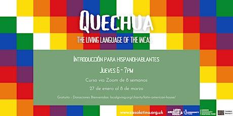 Introducción al Quechua para Hispanohablantes entradas