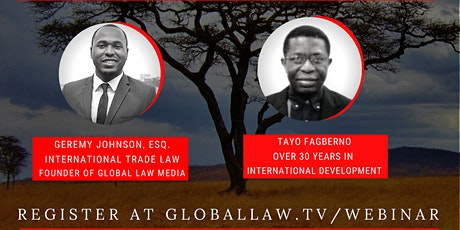 Real Steps to Invest into Africa - Passive Investments and Donor Funding tickets