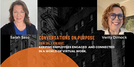 Keeping Employees Engaged and Connected in a World of Virtual Work. tickets