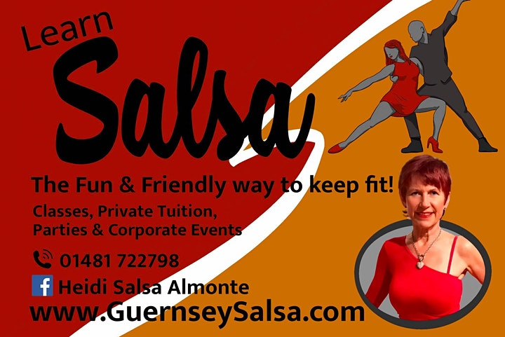 Dance Class Guernsey - Learn to Dance Salsa + Bachata image