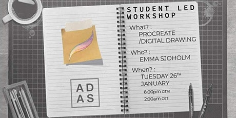 Digital Painting Workshop with Emma Sjohölm tickets