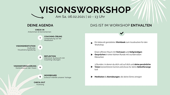 Besinnlicher Visionsworkshop für dein Jahr bzw. dein Herzensprojekt image
