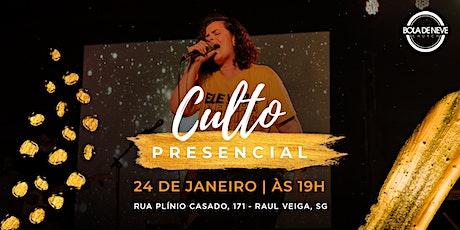 Culto Presencial - Bola de Neve São Gonçalo | 24/01 ingressos