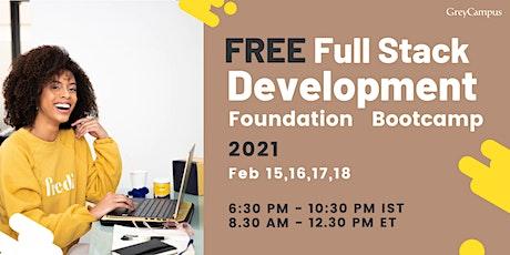 Free Fullstack Development Foundation Program tickets