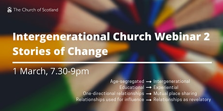 Intergenerational Church 2 – Stories of Change tickets