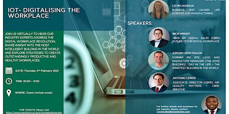 IOT – Digitalising the Workplace tickets