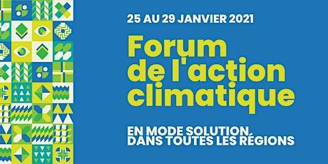 Forum national de l'action climatique billets