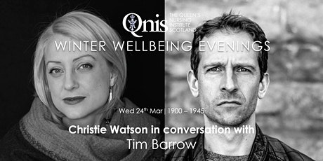 Christie Watson in conversation with Tim Barrow: Riptide tickets
