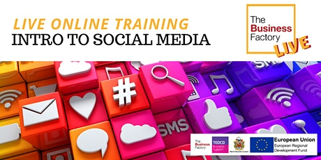 LIVE ONLINE – Introduction to Social Media – Workshop 1pm tickets