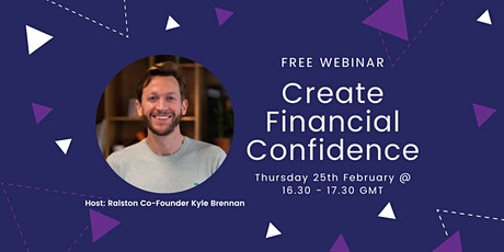 Creating Financial Confidence for Your Business tickets