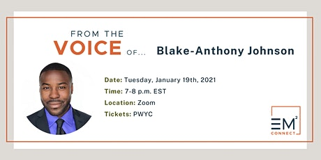 REPLAY From the Voice of Blake-Anthony Johnson: Equity + Action Talk Series tickets