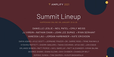 Amplify2021 (Free online Summit designed to help you launch, sell and scale tickets