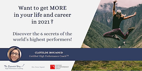 How to reach High Performance in your life and career in 2021 tickets