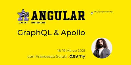 GraphQL & Apollo [GrUSP Academy - Angular Masterclass] tickets