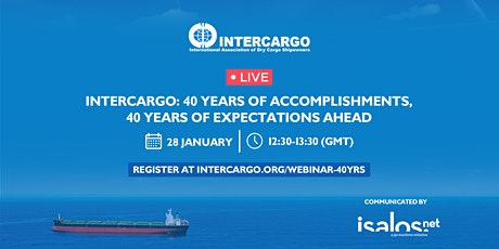 INTERCARGO: 40 years of accomplishments, 40 years of expectations ahead tickets