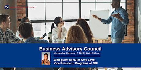 ESC of Central Ohio Business Advisory Council February Meeting tickets