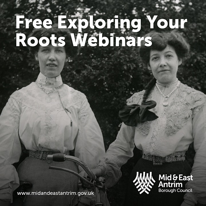 Exploring Your Roots Webinar - Carrickfergus Churchyards image