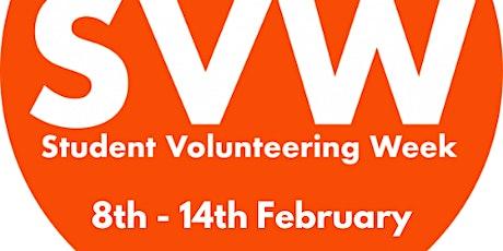Student Volunteering  Week 2021 Lunchtime Specials tickets