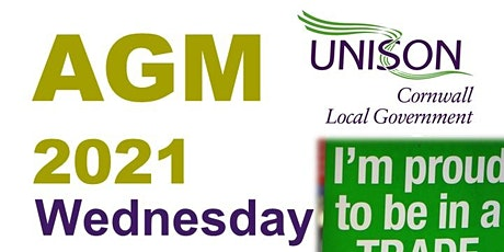 Unison Cornwall Local Government Branch AGM tickets