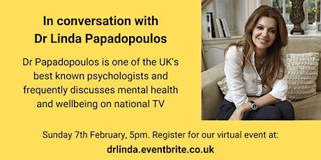 In conversation with Dr Linda Papadopoulos tickets