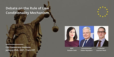 Debate on the Rule of Law Conditionality Mechanism tickets