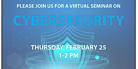 Cybersecurity Webinar tickets