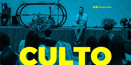 CULTO QUINTA-FEIRA 28/01 NOITE 20H ingressos