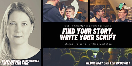 Find your story, write your script. tickets