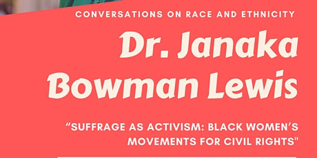 Suffrage as Activism: Black Women's Movements for Civil Rights tickets