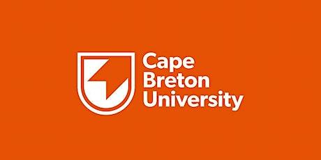 Cape Breton University Gaelic Programming Community Consultation tickets